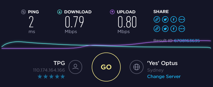 Solved: Slow Internet - TPG Community