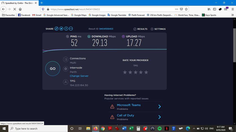 Firefox Ethernet