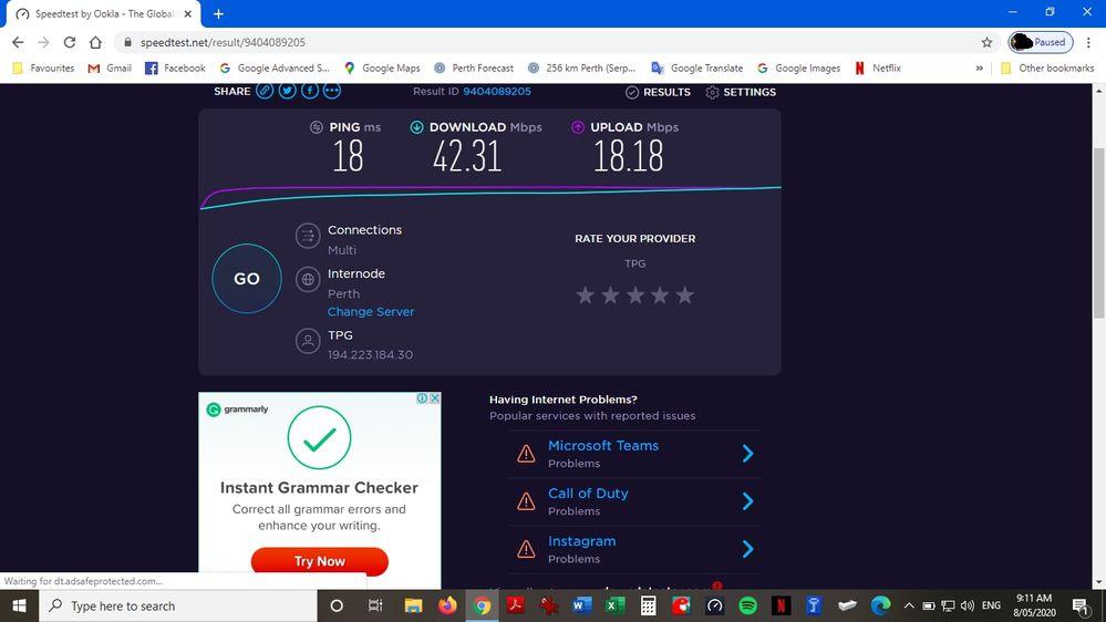 Chrome Ethernet
