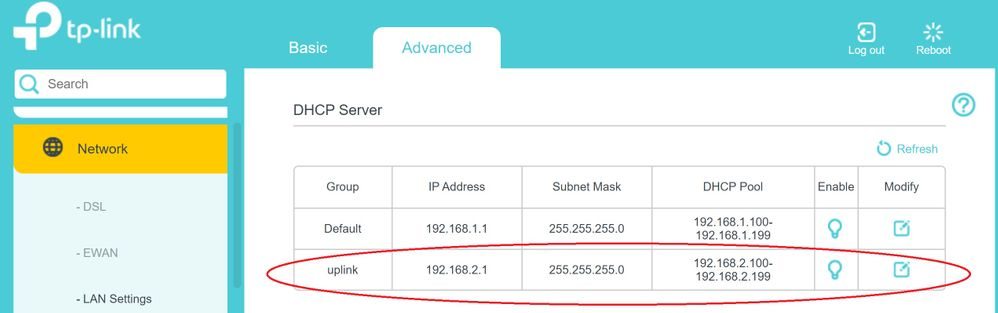 Archer ADSL bridge set up new DHCP subnet.jpg