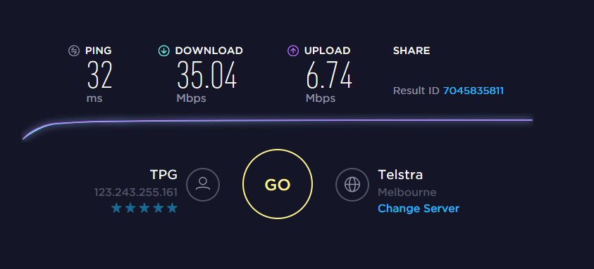 Hows this for superfast 100 lol?