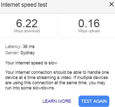 Very slow upload speed on ADSL2+ - TPG Community