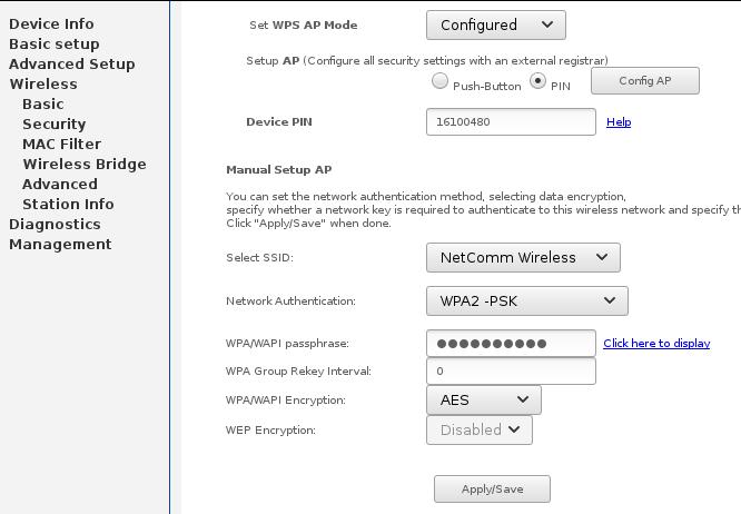 reconfigure Netgear N300 NF12 - TPG Community