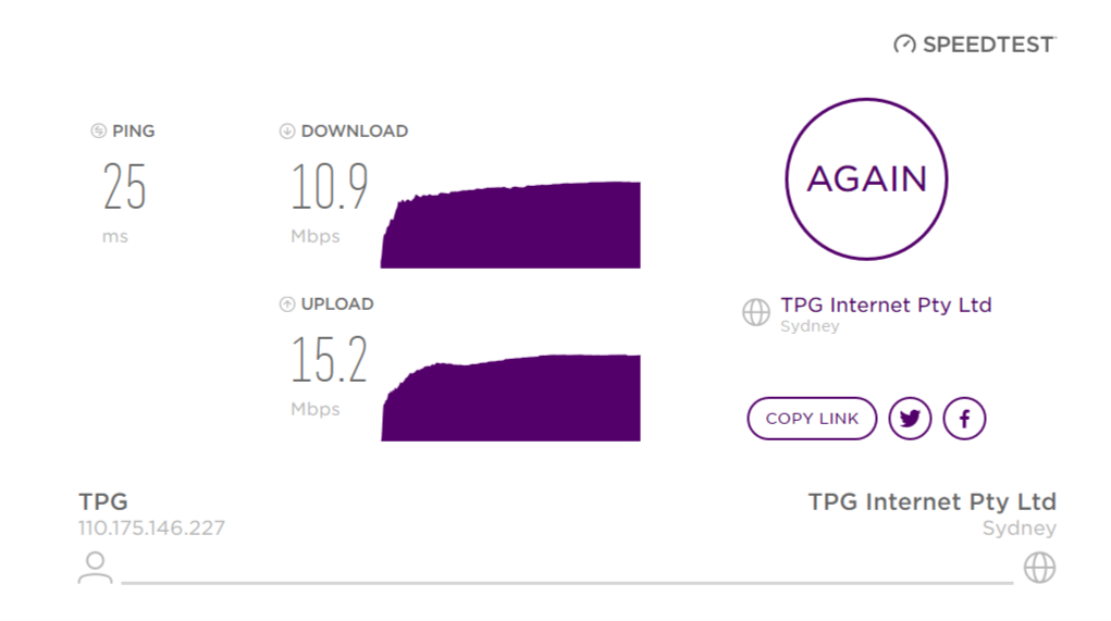 Solved: Static IP address on NBN home account? - Page 2 - TPG Community