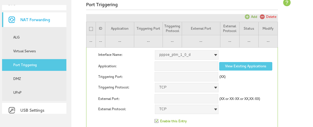Solved: Port Forwarding on the new TP Link VR 1600V - TPG Community