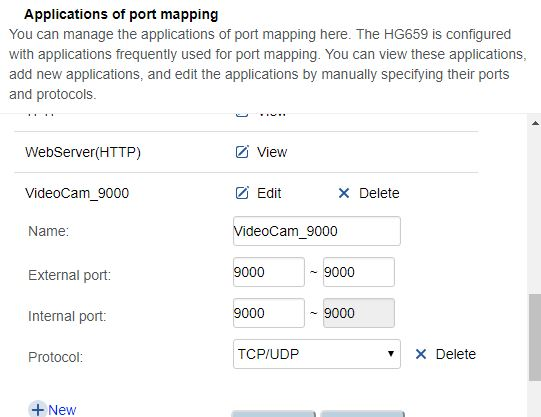 Solved: Port Forwarding on the HG 659 - TPG Community